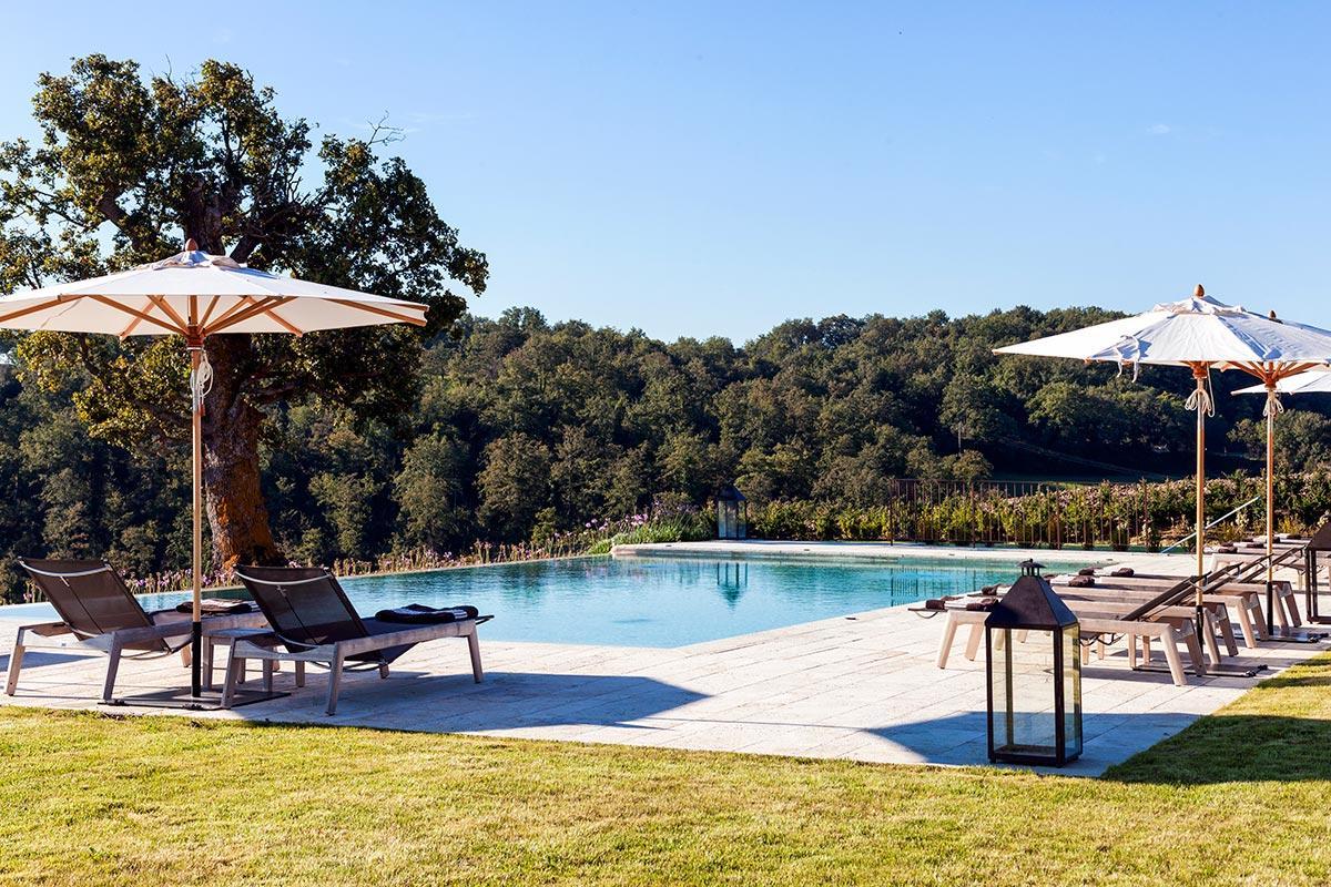 cool poolside of Tuscany - Villa San Luigi luxury apartment