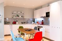 nice kitchen of London Hanbury Street 2BR luxury apartment