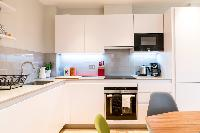modern kitchen appliances in London Hanbury Street 2BR luxury apartment