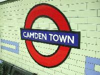 Camden Town tube station near London Charming and Modern Camden luxury apartment