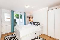 pretty bedroom in Designer Central London Home