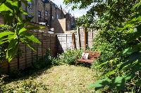 refreshing garden of Designer Central London Home