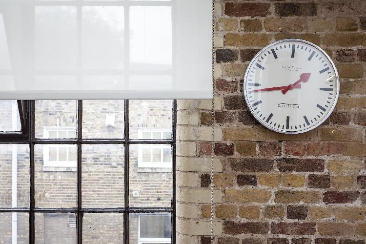 awesome brick walls of London Stylish Warehouse luxury apartment