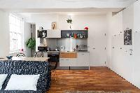 contemporary kitchen of London Boutique East London Home luxury apartment