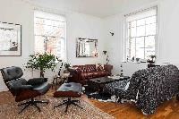 well-appointed sitting area of London Boutique East London Home luxury apartment