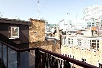 cool terrace of London City of London Penthouse luxury apartment