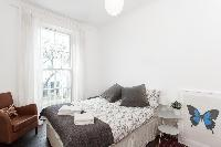 awesome bedroom in London Stylish Camden 2 BR luxury apartment