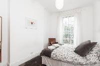 spacious bedroom in London Stylish Camden 2 BR luxury apartment
