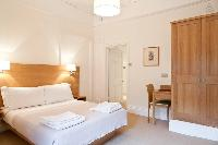 delightful bedroom furnishings in London Doughty 1 Bedroom luxury apartment
