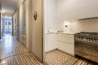 cool modern kitchen of Barcelona - Luxury Cornelia luxury apartment