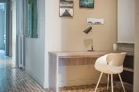 neat interiors of Barcelona - Luxury Cornelia luxury apartment