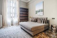 cool bedroom with balcony at Barcelona - Luxury Cornelia luxury apartment