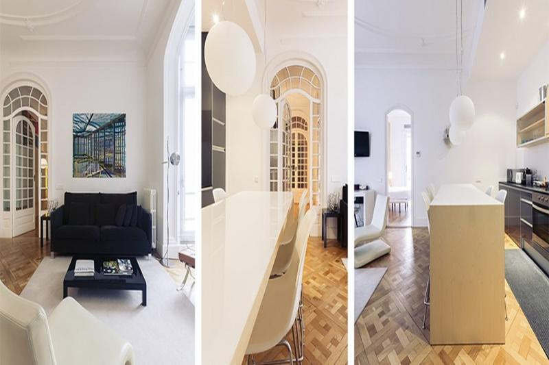well-appointed Barcelona - Modern Eliseos luxury apartment