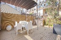 fantastic balcony of Barcelona - Elegant Julieta luxury apartment