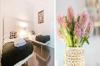 clean and fresh bed sheets in Barcelona - Elegant Julieta luxury apartment