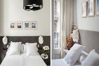 clean and fresh bedroom linens in Barcelona - Urban Olivia luxury apartment