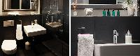 fresh and clean toilet and bath in Barcelona - Luminous Vela luxury apartment