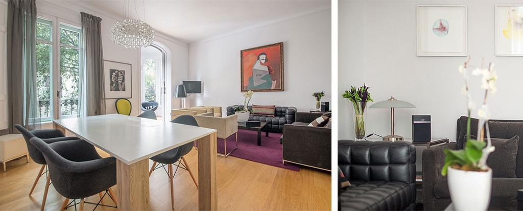 awesome Barcelona - Luminous Vela luxury apartment