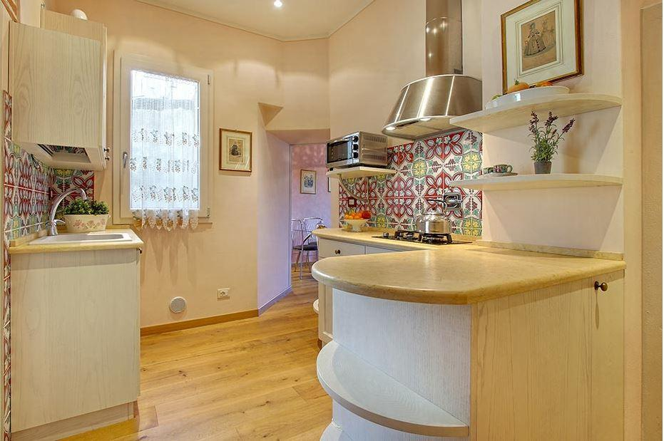 charming and chic Tuscany - Florence Cupido 1BR luxury apartment