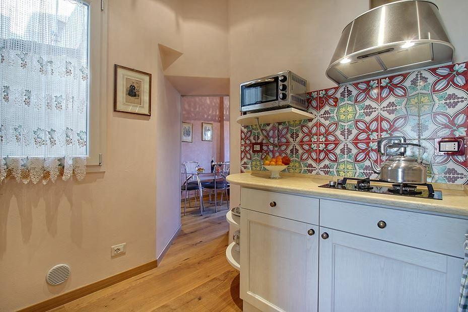 cool modern appliances in Tuscany - Florence Cupido 1BR luxury apartment