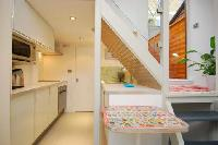 cool multilevel London Framery 5 luxury apartment