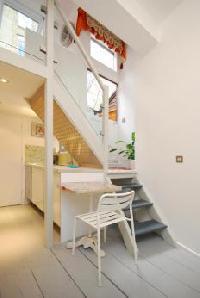 nice stairs of multilevel London Framery 5 luxury apartment