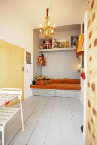 spacious bedroom in London Framery 5 luxury apartment