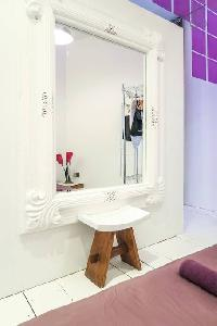 awesome dressing mirror in London Framery Studio Workshop luxury apartment
