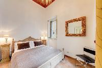 lovely bedroom of Rome - Via della Croce I luxury apartment