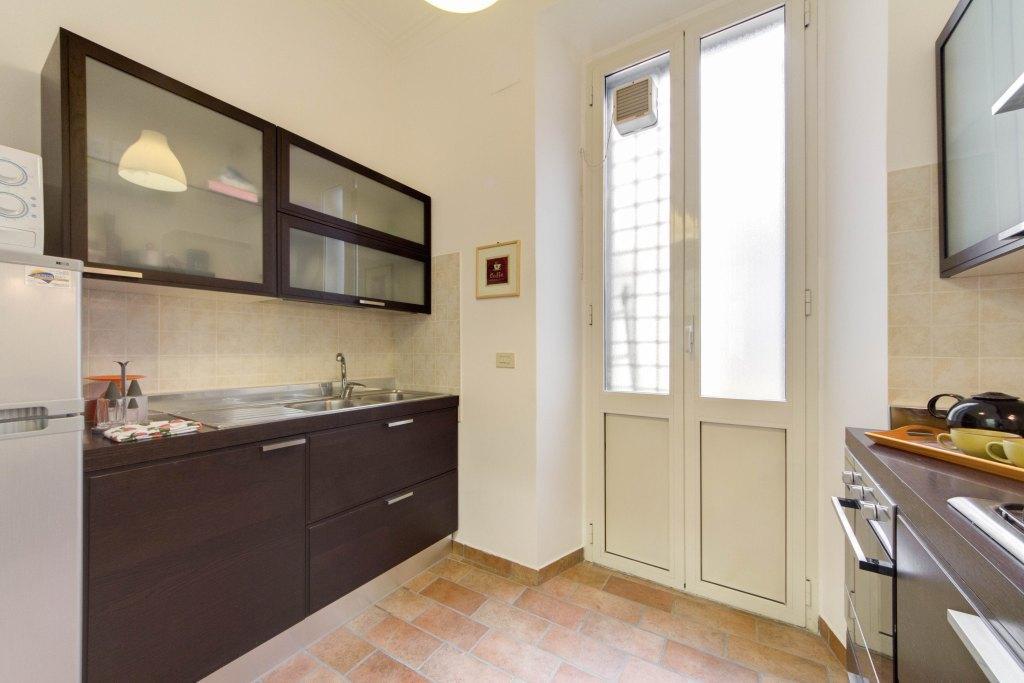 awesome kitchen of Rome - Via della Croce I luxury apartment