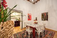 fabulous dining room of Rome - Via della Croce III luxury apartment