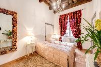 amazing bedroom of Rome - Via della Croce III luxury apartment
