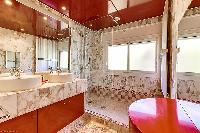 fascinating bathroom interiors of Cannes - Palm Spring Villa luxury apartment