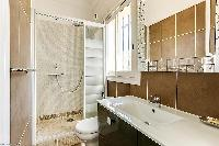 neat and trim bathroom of Cannes - Palm Spring Villa luxury apartment