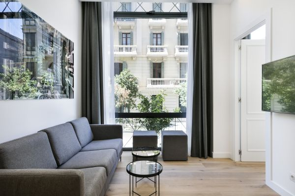 chic Barcelona - Palou Deluxe 1 luxury apartment and holiday home