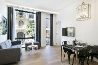 amazing open-plan living room of Barcelona - Palou Deluxe 1 luxury apartment