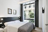 awesome bedroom with balcony at Barcelona - Palou Deluxe 1 luxury apartment