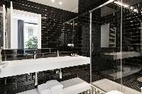 handsome bathroom interiors of Barcelona - Palou Deluxe 1 luxury apartment