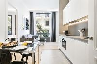 cool access to the balcony of Barcelona - Palou Deluxe 1 luxury apartment