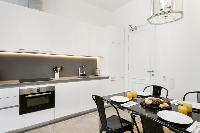 modern kitchen appliances in Barcelona - Palou Deluxe 1 luxury apartment