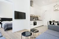 fully furnished Barcelona - Palou Deluxe 1 luxury apartment