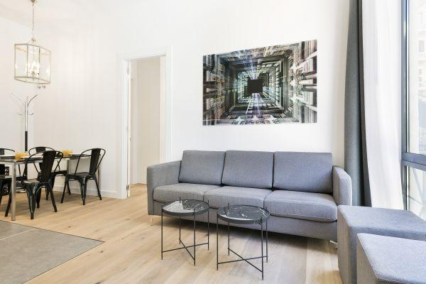 well-appointed Barcelona - Palou Deluxe 1 luxury apartment