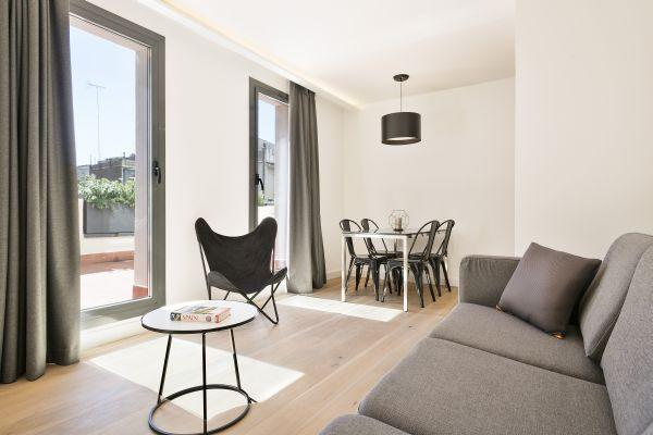 spacious Barcelona - Palou Deluxe with Huge Terrace luxury apartment