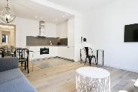 well-appointed Barcelona - Deluxe Palou Wide Living Room luxury apartment