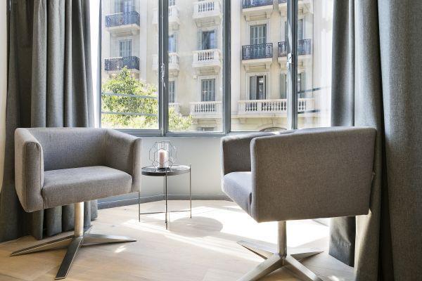 fabulous Barcelona - Deluxe Palou Wide Living Room luxury apartment