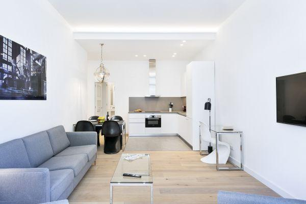 nice Barcelona - Deluxe Palou Wide Living Room luxury apartment and vacation rental