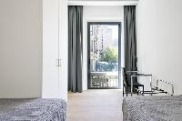 coll access to the balcony of Barcelona - Deluxe Palou 4 luxury apartment