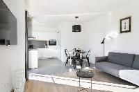 fully furnished Barcelona - Deluxe Palou with Loft and Balcony luxury apartment