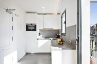 modern kitchen appliances in Barcelona - Deluxe Palou Penthouse luxury apartment