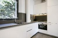 modern kitchen appliances in Barcelona - Deluxe Palou Suite Apartment luxury holiday home and vacati
